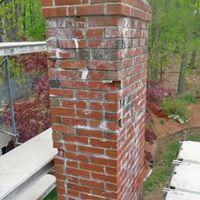 chimney needing repair