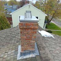 new brick flue