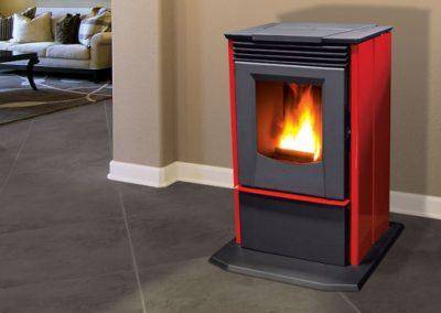 free standing pelet stove